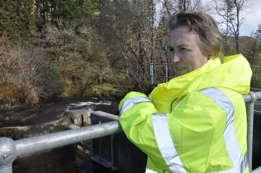 Hydro scheme official opening powers ahead