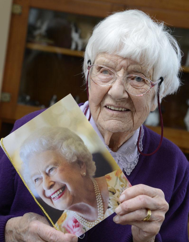 Queen's congratulations as Salen's Mona Brown reaches 100