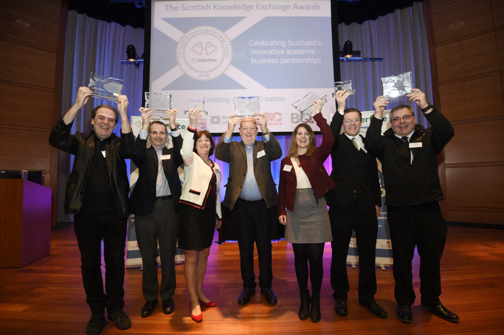 Winners announced at Scottish Knowledge Exchange Awards