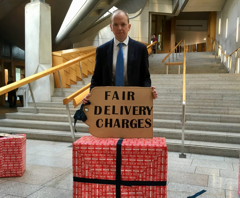 Clampdown on delivery charges is welcomed