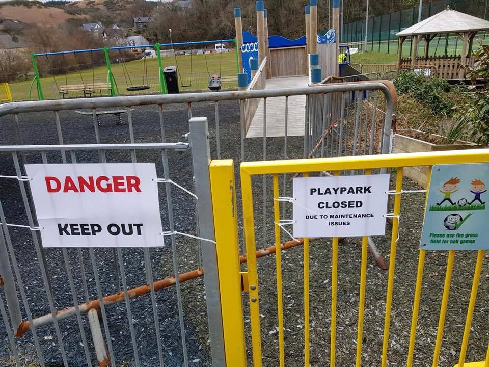 No update to Oban playpark saga
