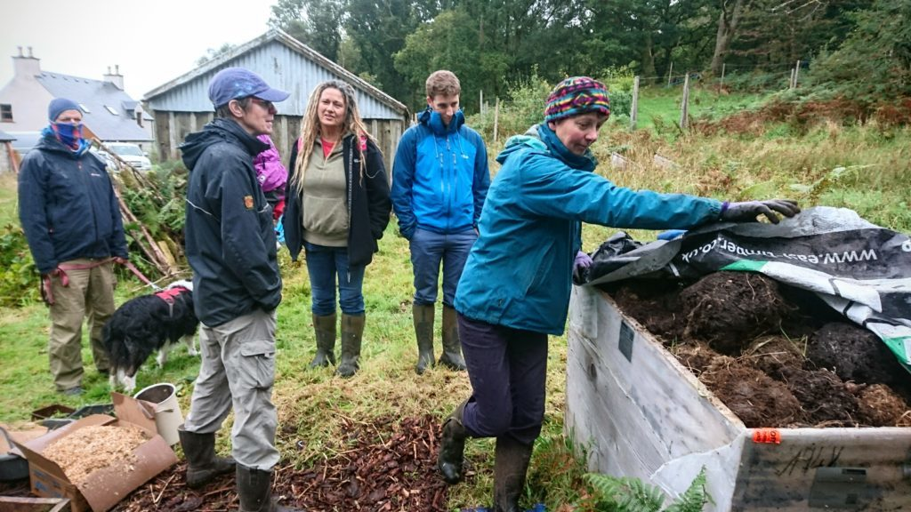 Food waste feeds into Lochaber environmental project