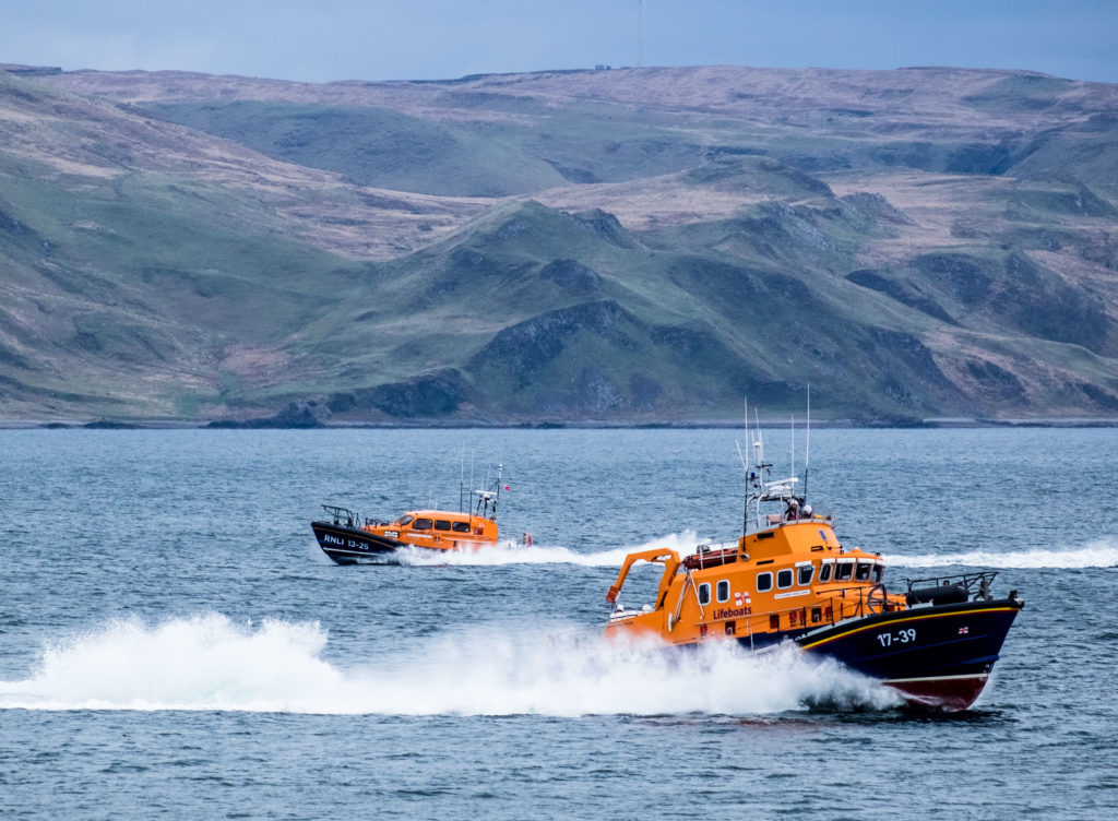 Busy day for Tobermory RNLI's volunteer crew