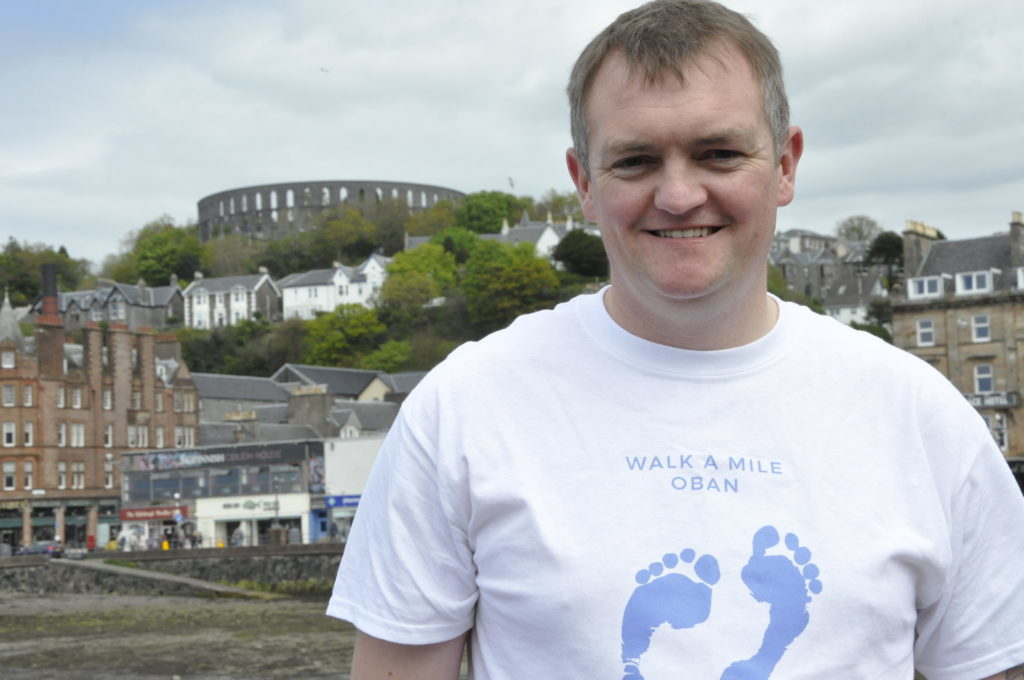 Oban goes extra mile to smash mental health barriers