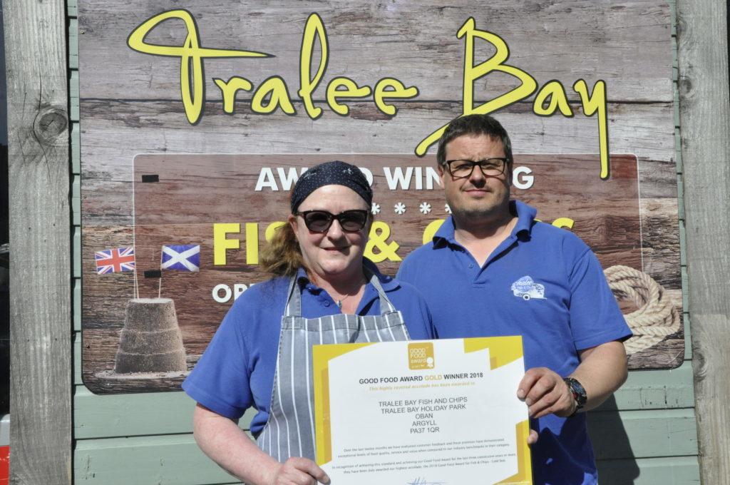 Bay chippy gets gold award