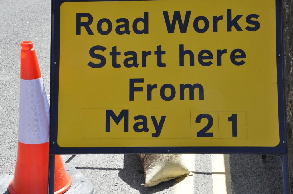 Delays expected in Glencruitten Road as resurfacing work starts
