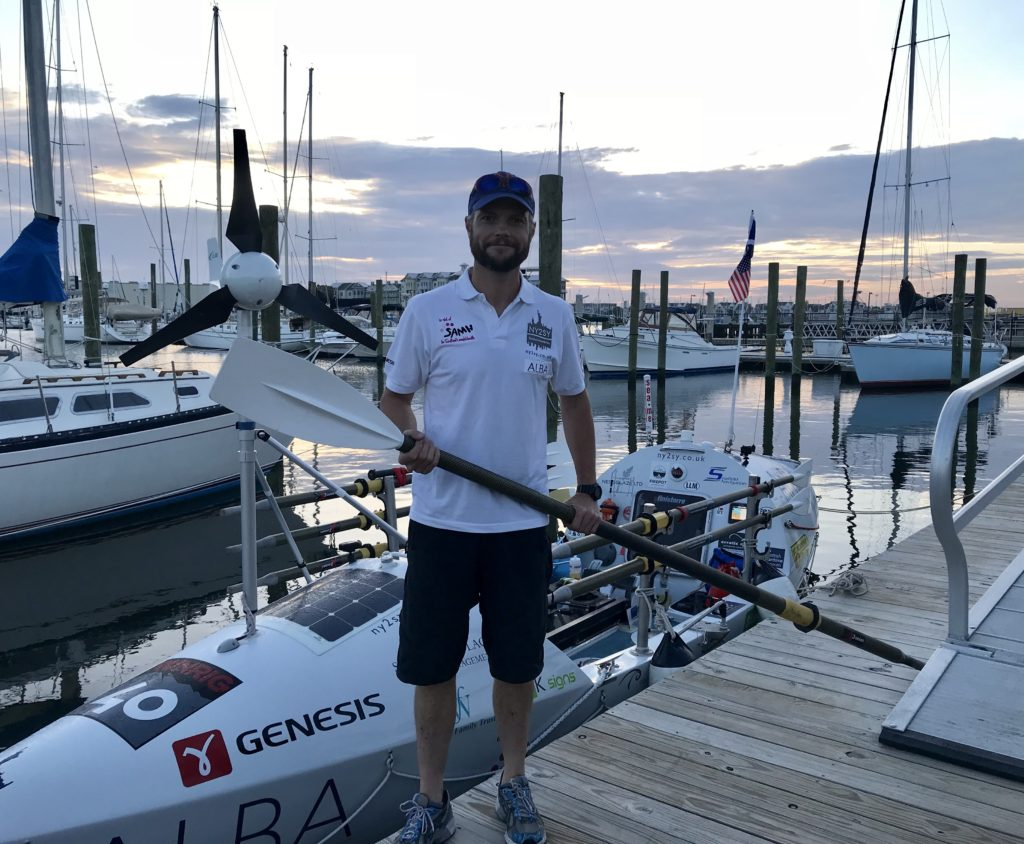 Lewis adventurer Niall Iain embarks on new attempt at North Atlantic