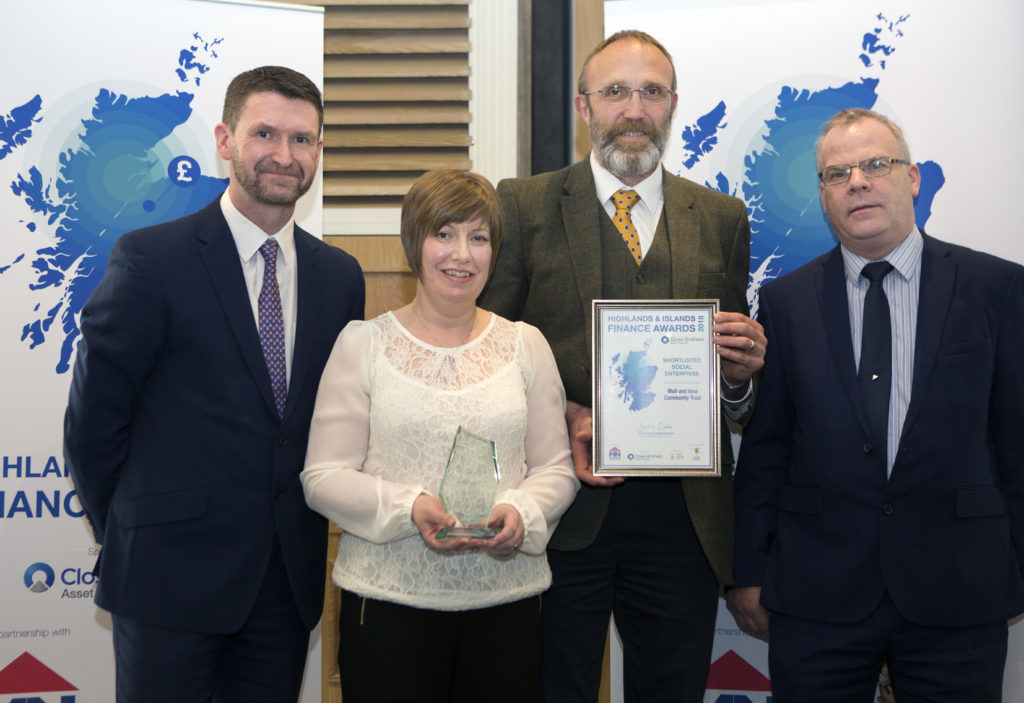 Mull project wins financial award