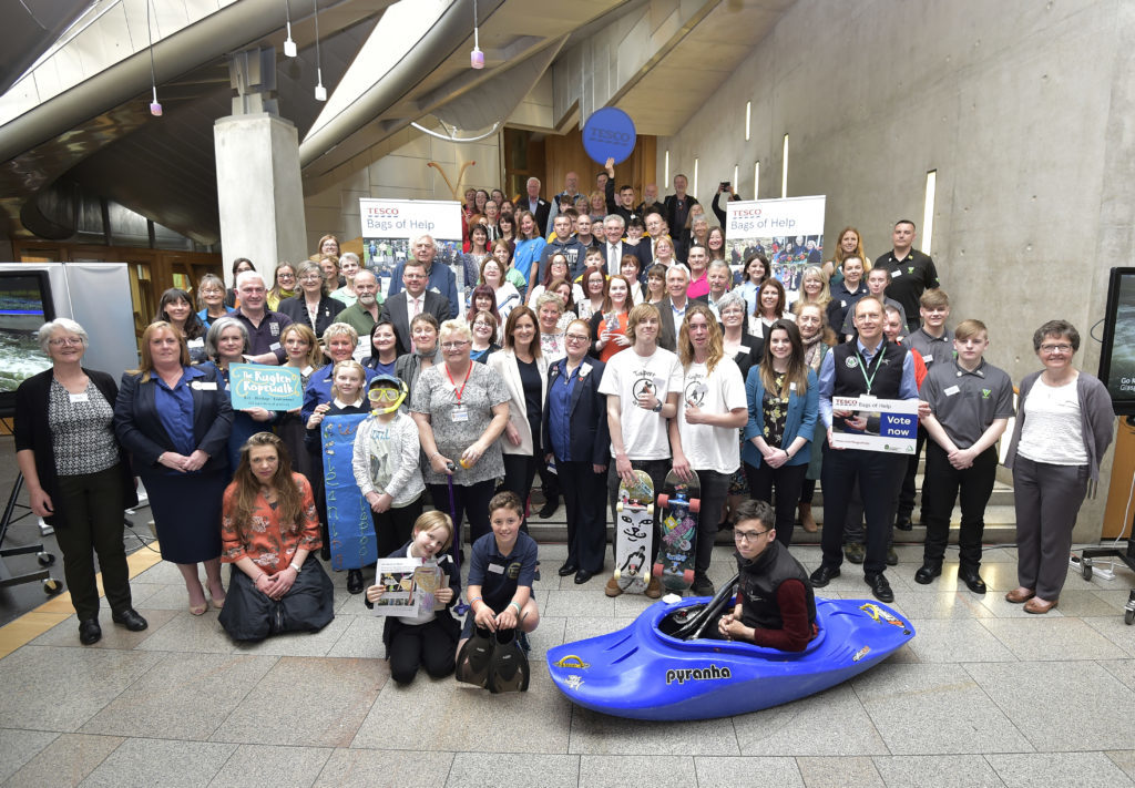 Oban and Lochaber groups attend Holyrood event