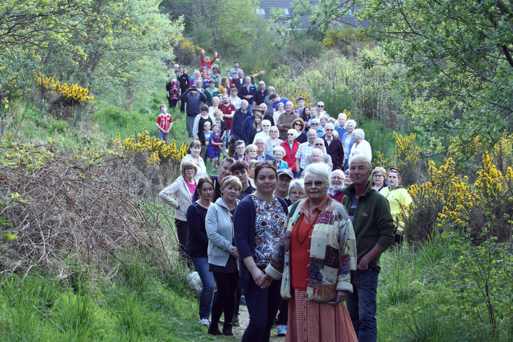 Green space guardians go to public meeting