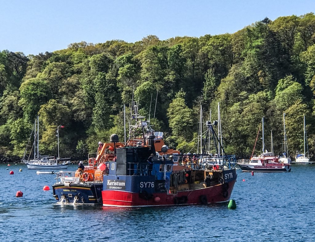 Five-hour 'shout' rounds off busy fortnight for Tobermory RNLI