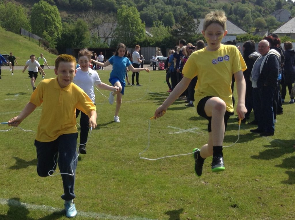 Sun shines on St Columba's sports day   The Oban Times