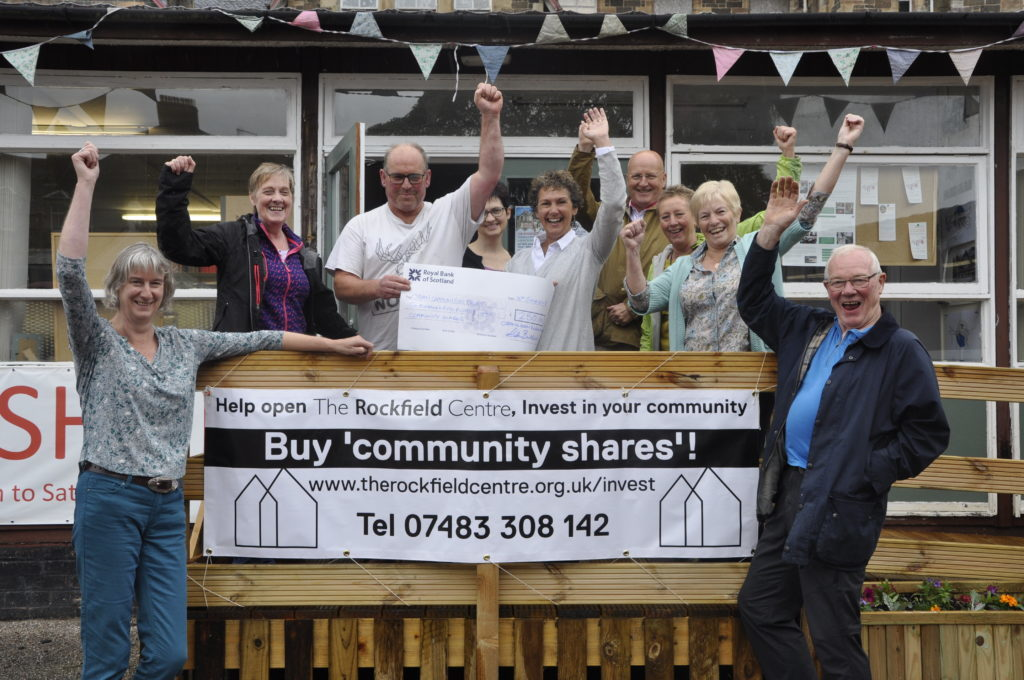 Rockfield Centre launches its community shares project