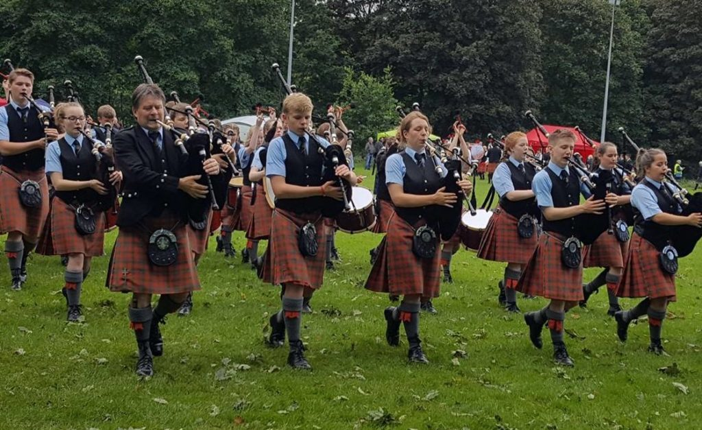 Oban High Pipe Band take second in UK Championships