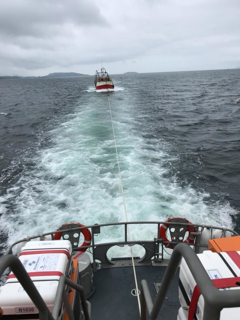 Double call-out for Oban RNLI