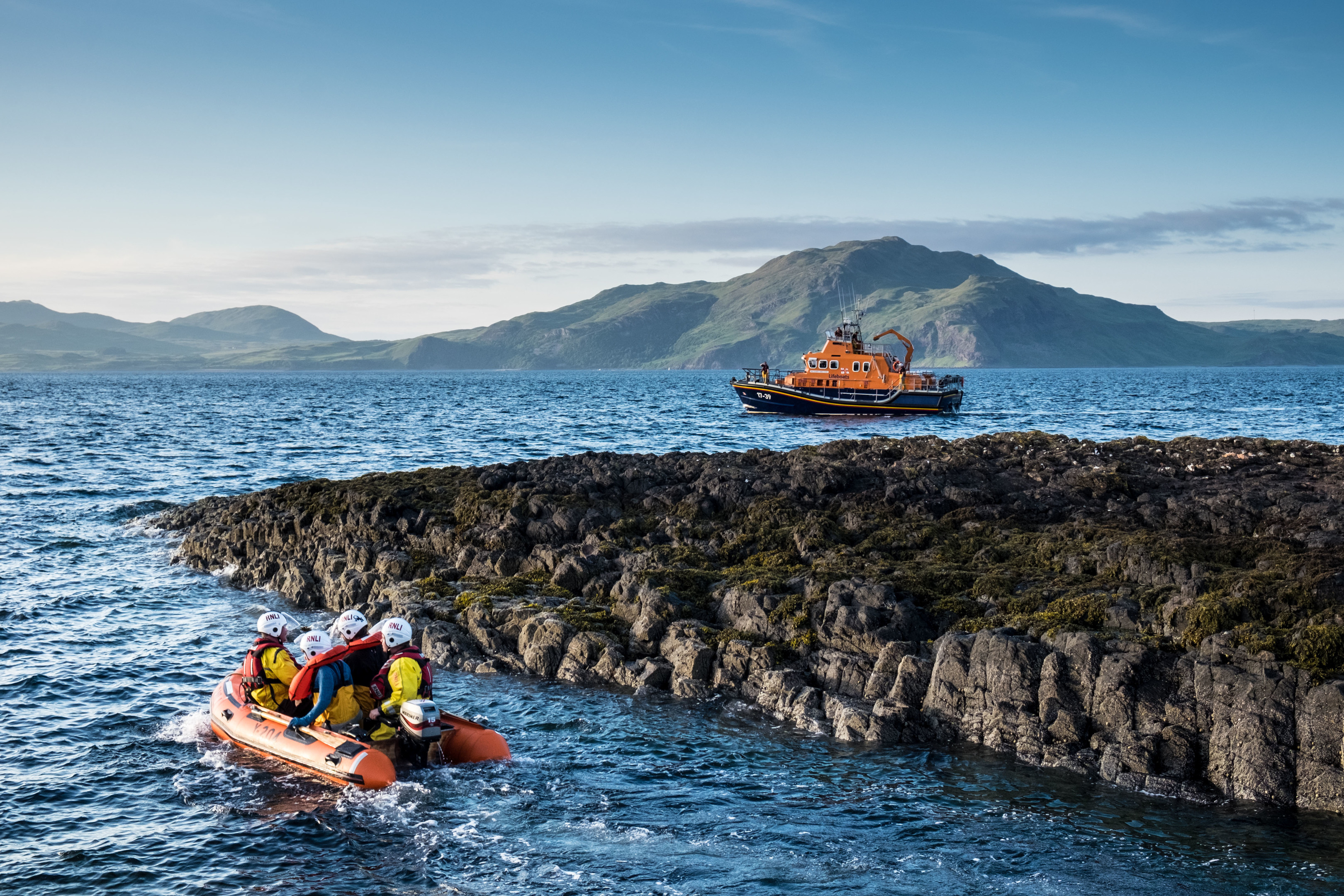 Tobermory RNLI tasked to mayday before training exercise