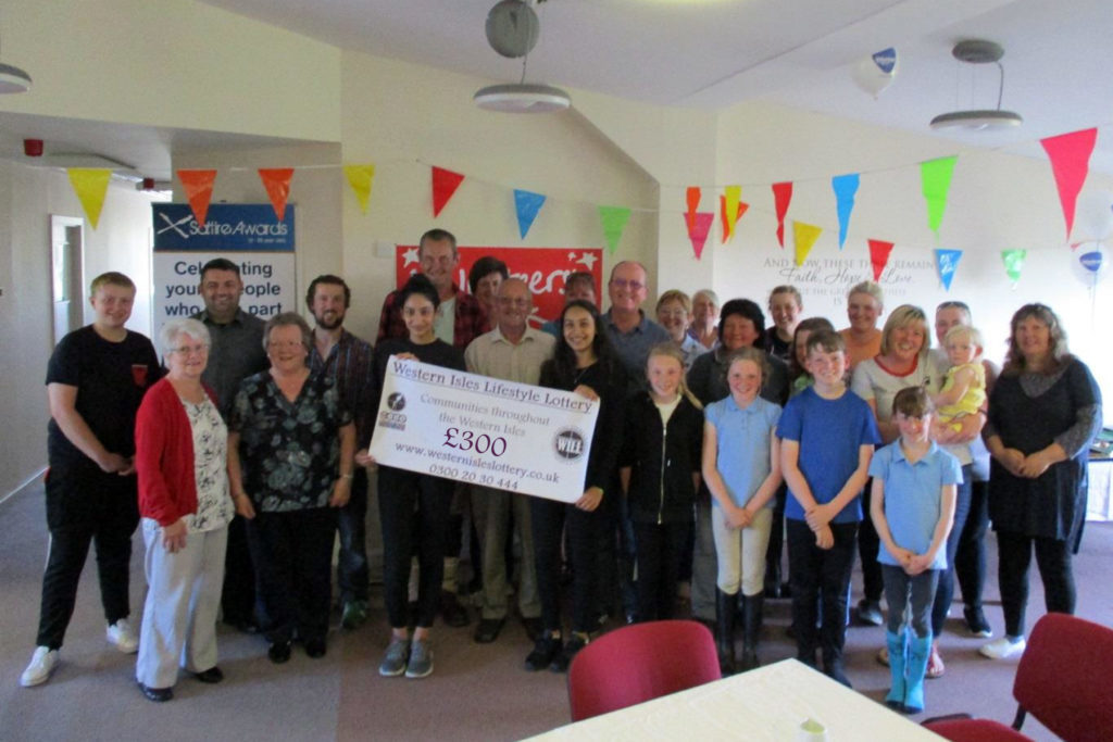 Uist volunteers land cash windfall