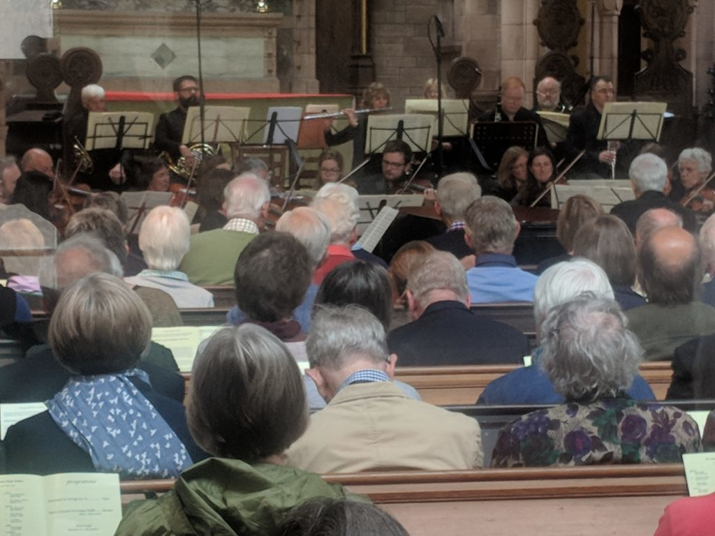 Full house for Bette Graham memorial concert