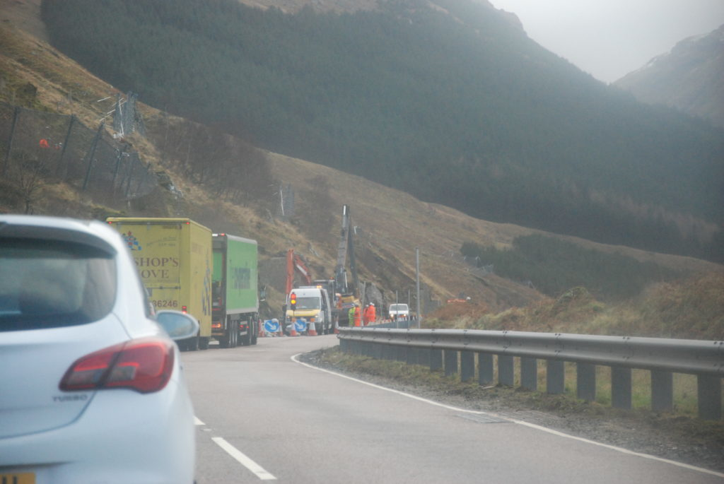 Resurfacing work to start on A83 at Rest and Be Thankful
