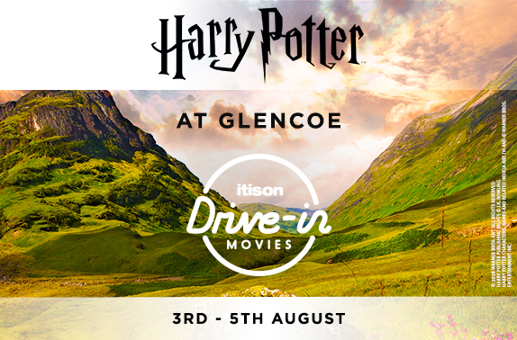 Win a car ticket to watch Harry Potter at Glencoe: itison drive-in movies