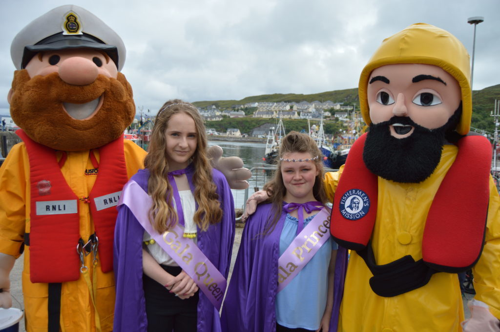 Gala Queen Megan reigns over successful maritime day