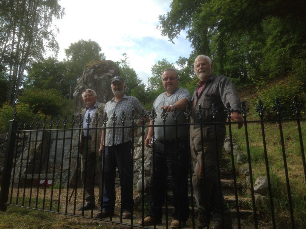 Invergarry War Memorial gets make-over