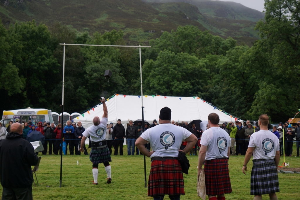 Lochcarron gears up for Highland games
