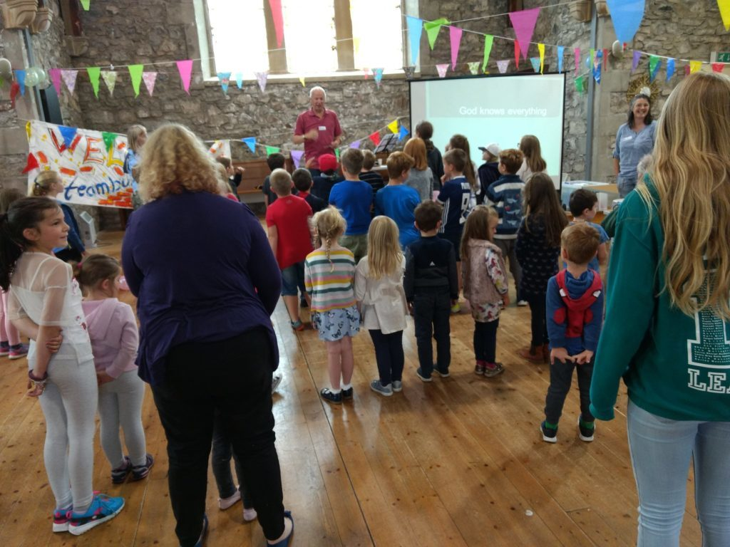 Salen holiday club scores with youngsters