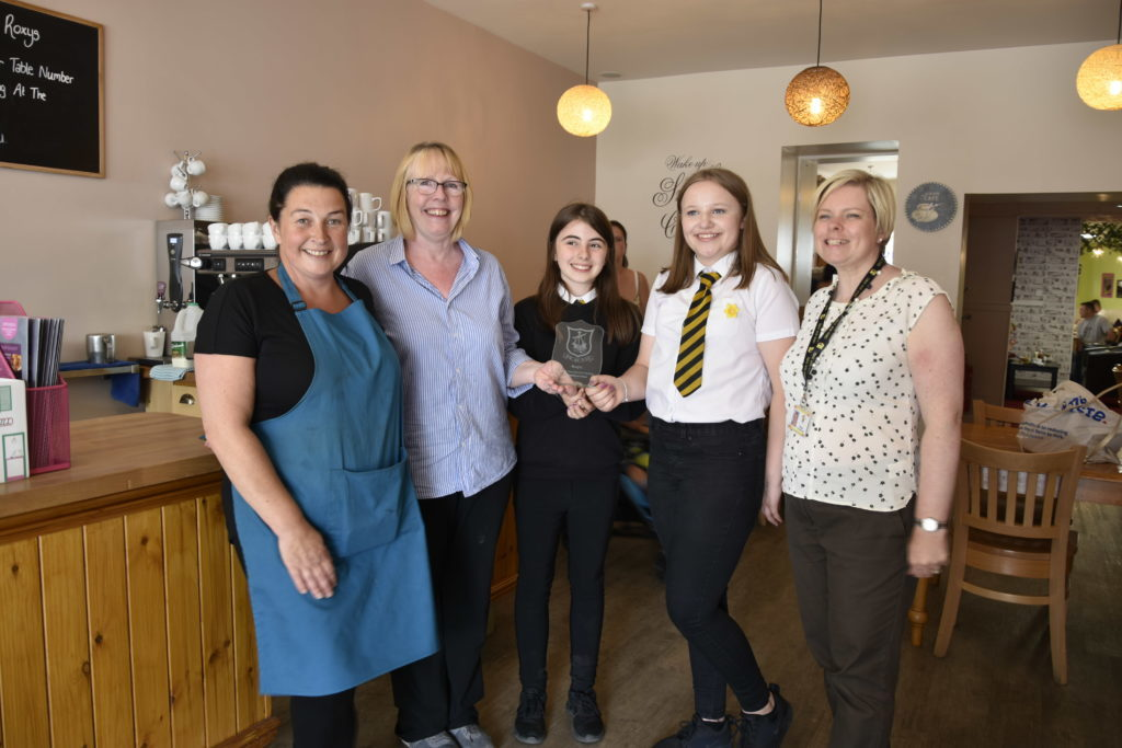 Oban High School pupils lobby businesses to ditch plastic straws