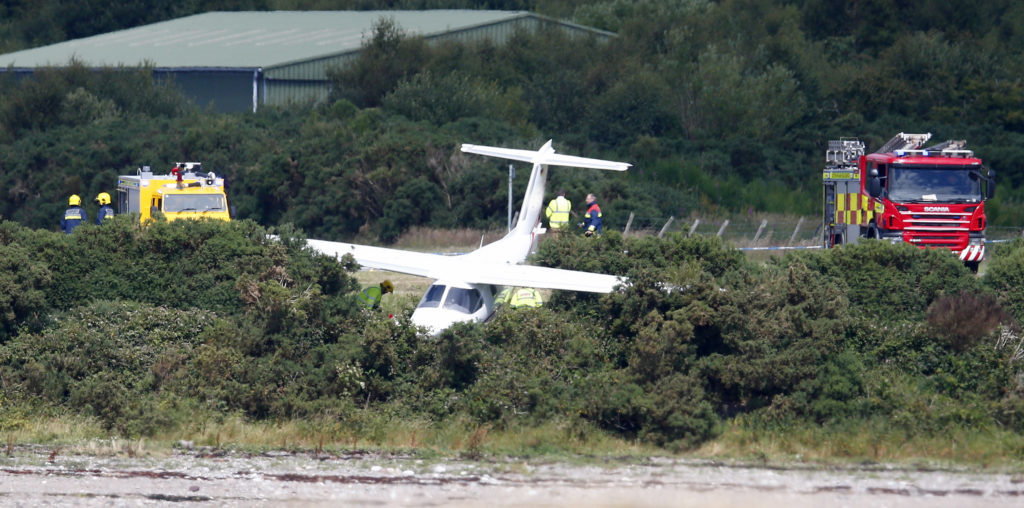 Aircraft crash in North Connel