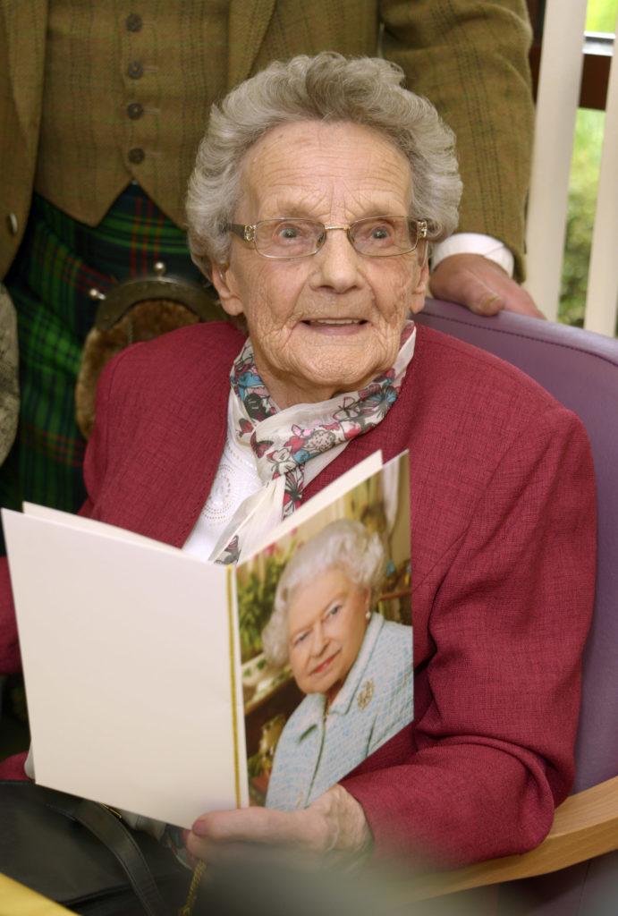 Farewell Chrissie, aged 104