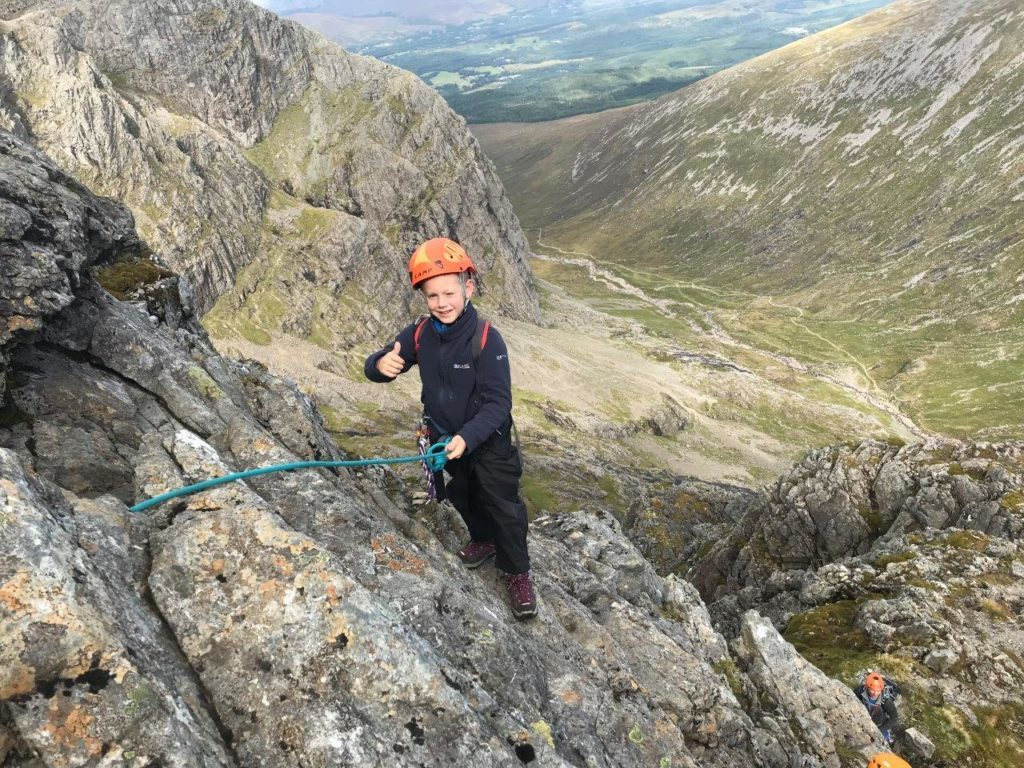 Marcus's mammoth mountain climb