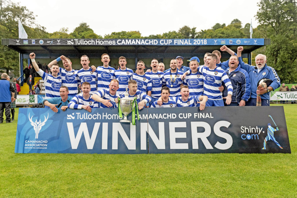 Three in a row as Newtonmore lift Camanachd Cup