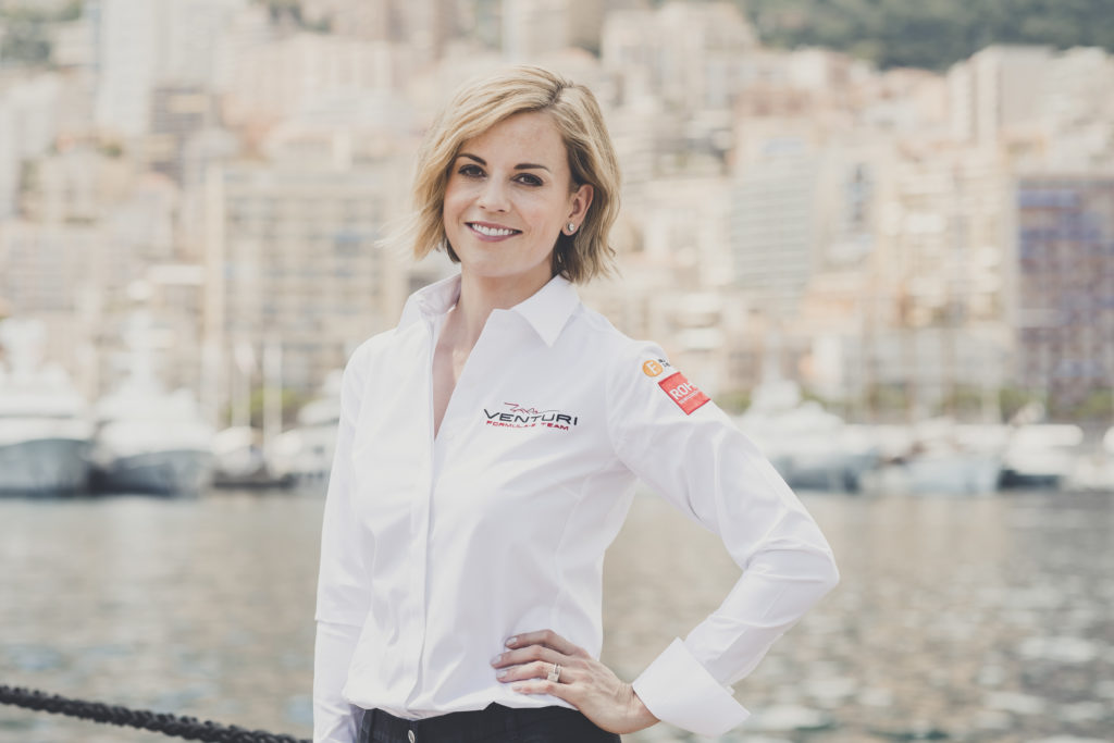 Susie Wolff brings son to Oban for the first time this weekend
