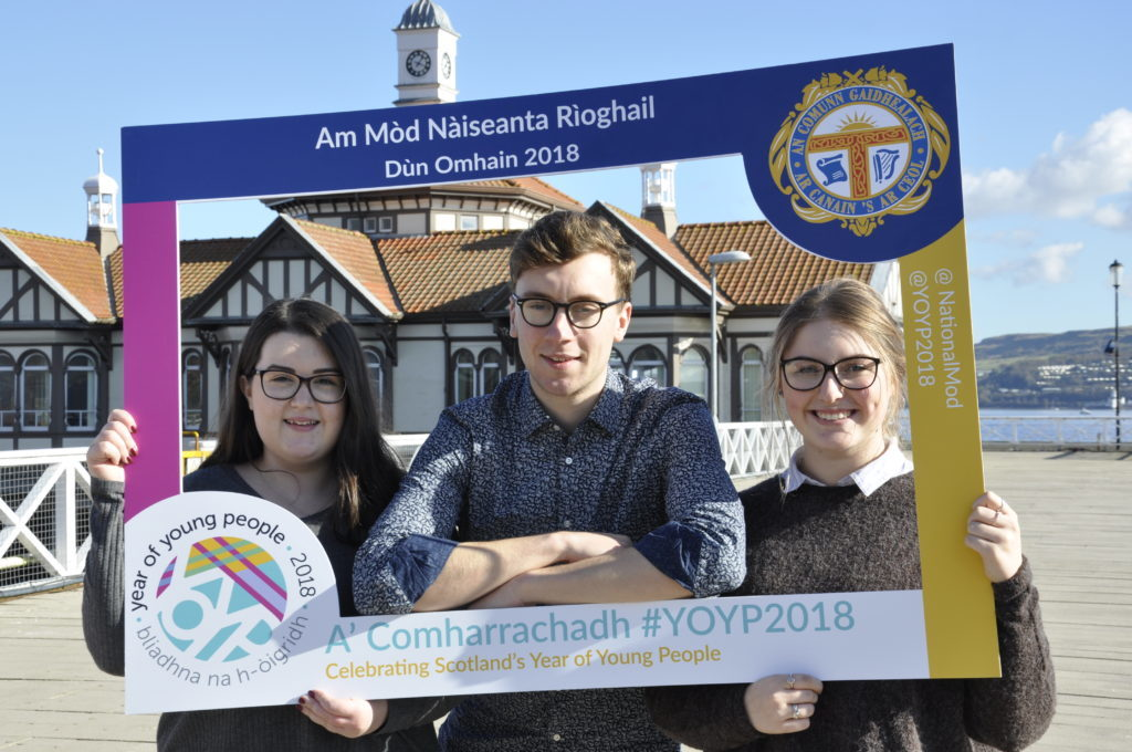 Young people have their say at Royal National Mòd in Dunoon