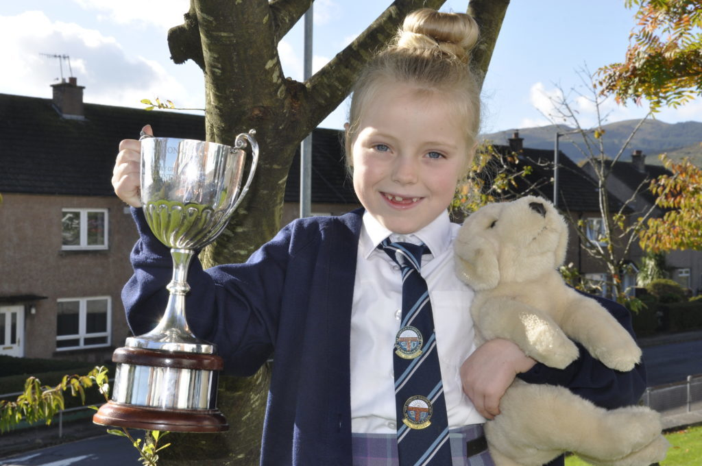 Stuffed teddies prove lucky at this year's Royal National Mòd