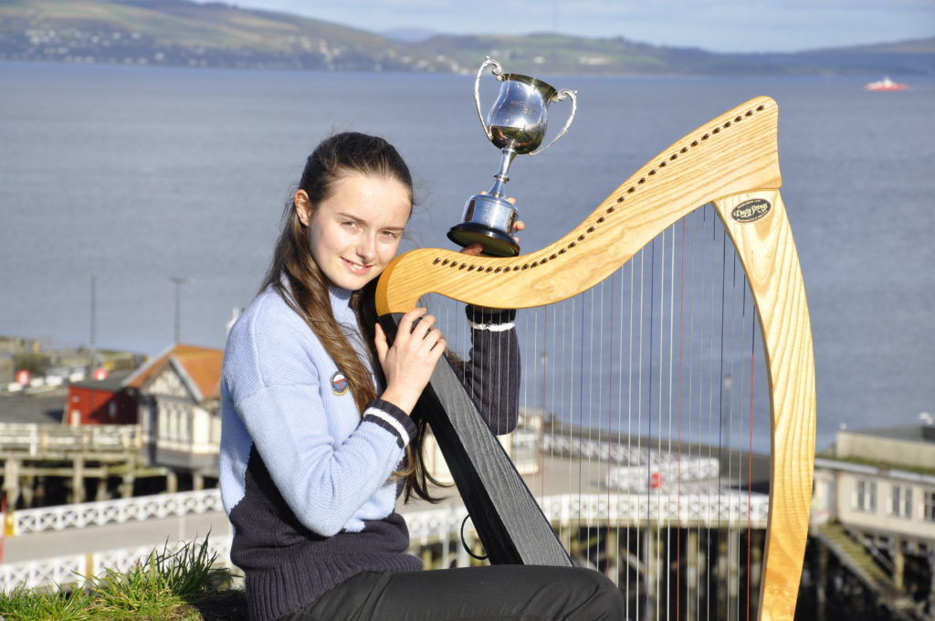Campaign to raise £8,000 for talented clarsach player