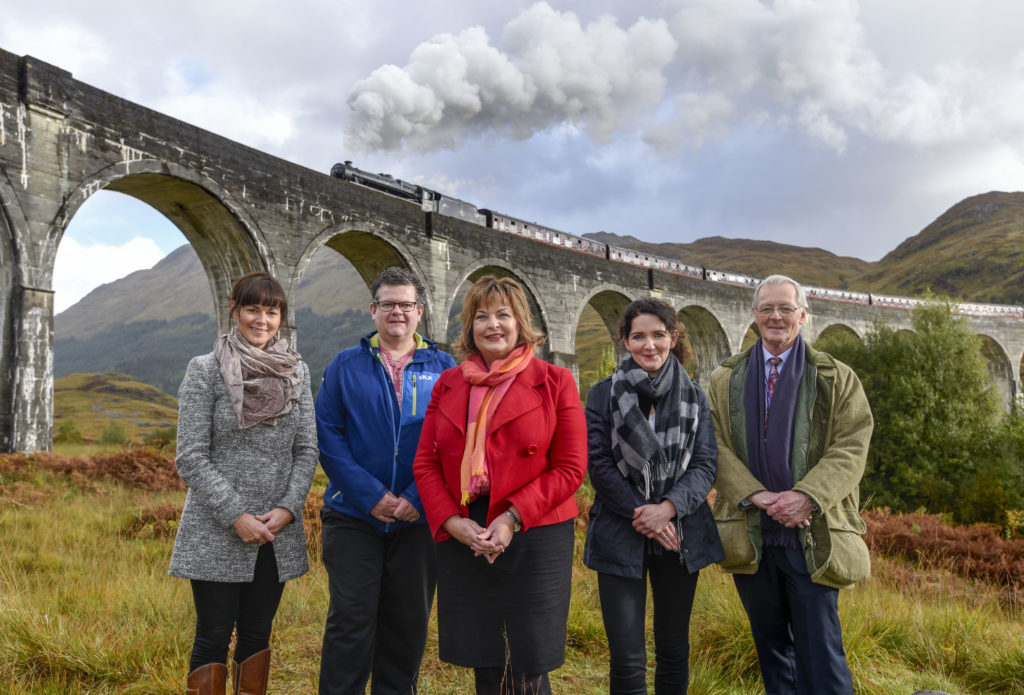 Wizard result for Glenfinnan and Arisaig with tourism grants