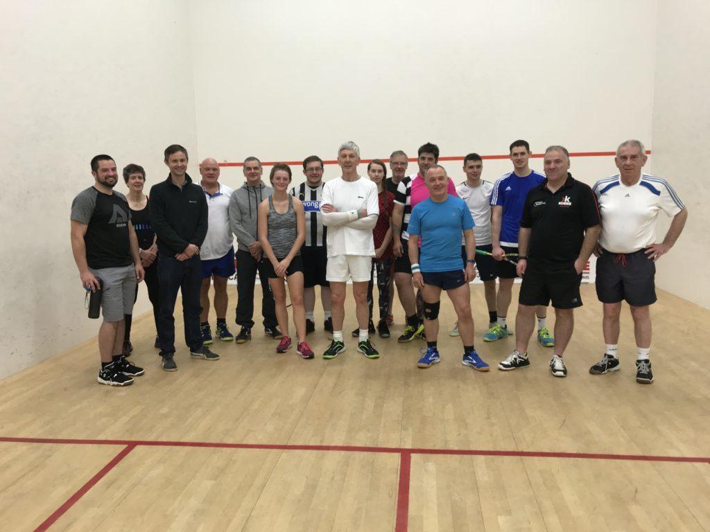 Wordsall wins annual Lochaber Squash Club handicap tournament