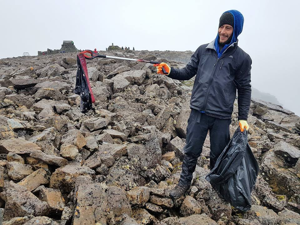 170kgs of rubbish collected from Ben Nevis