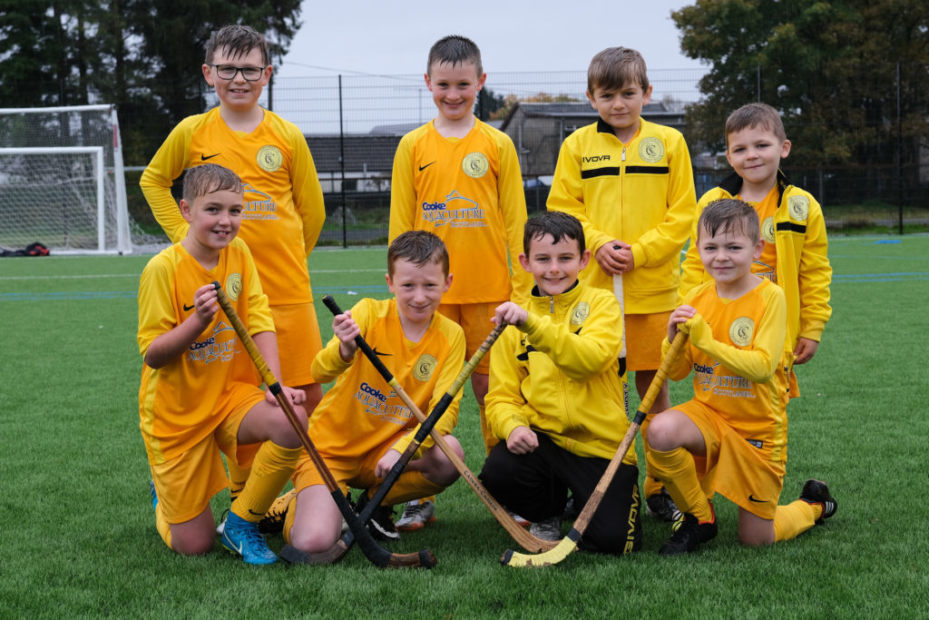 Teams pitch in with shinty and football