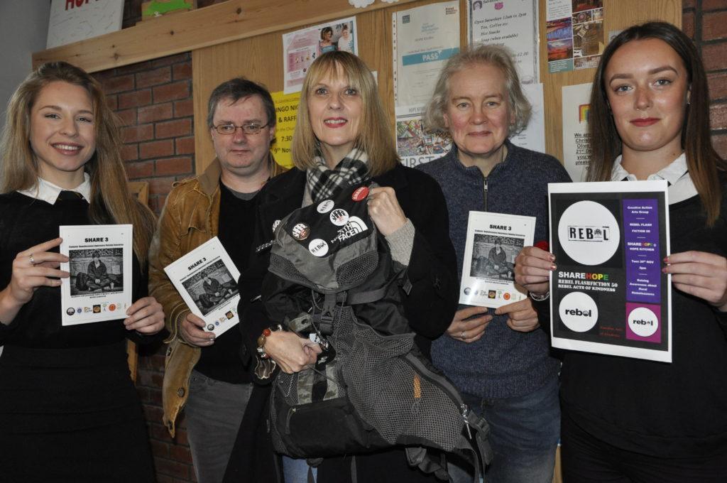 Rucksacks and handbags help raise homeless awareness