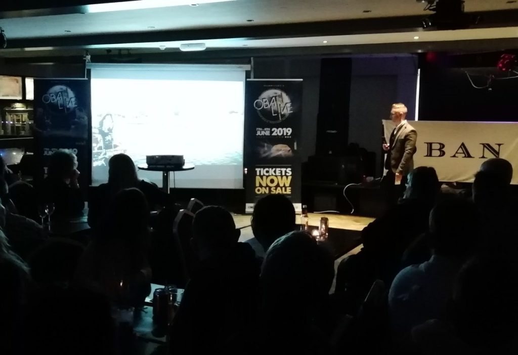 Fans treated to launch of Oban Live 2019