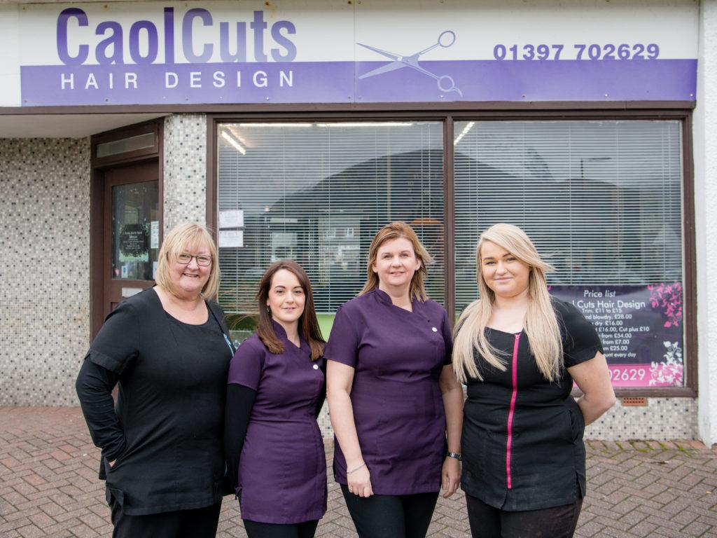 Caol hairdresser celebrates 20 years