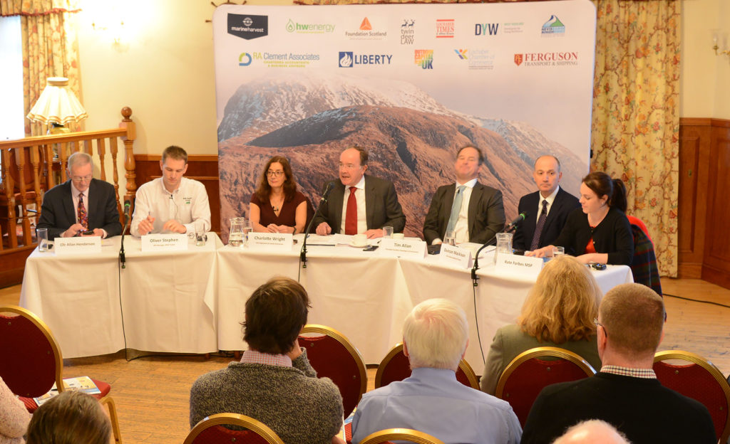 Lochaber Question Time panel grilled over roads and internet