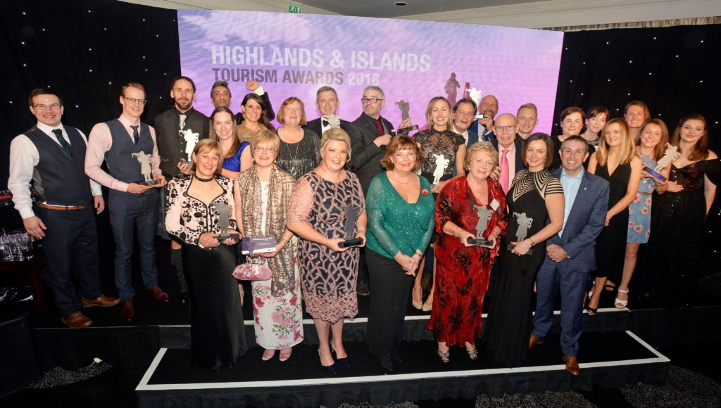 Argyll tourism businesses celebrate success at awards
