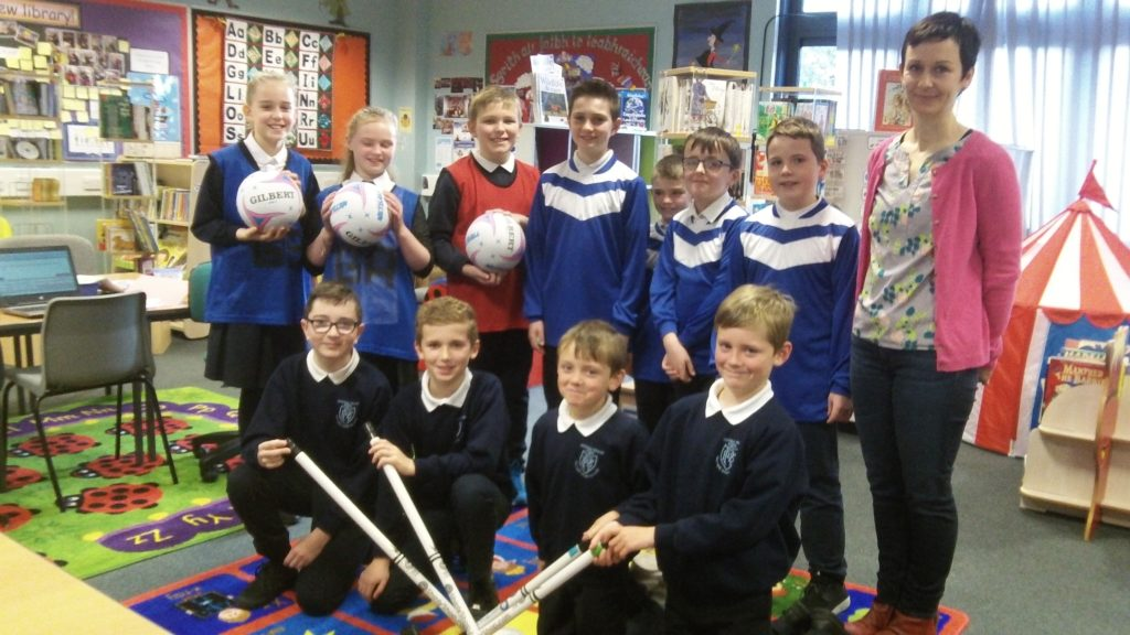 Rockfield Primary all kitted up thanks to £500 sports grant
