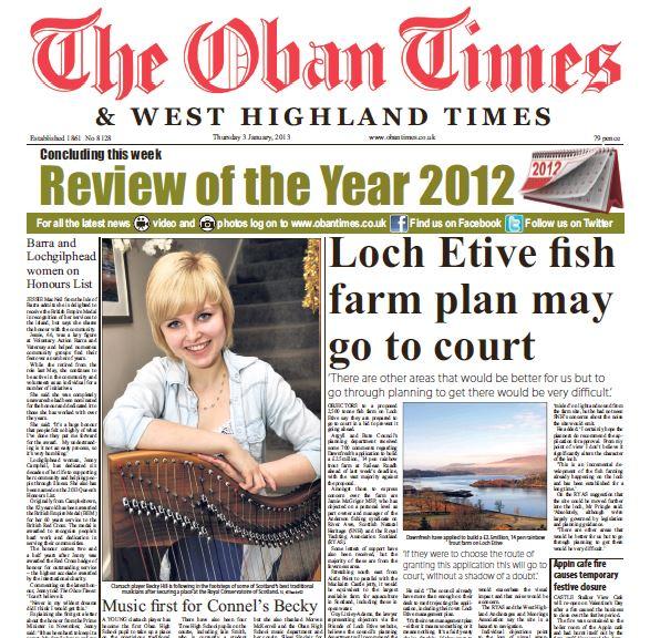 Oban Times PDF Archive 2013