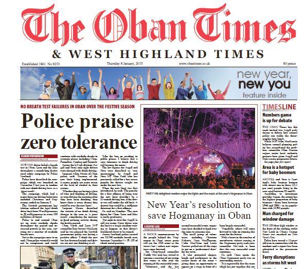 Oban Times PDF Archive 2015
