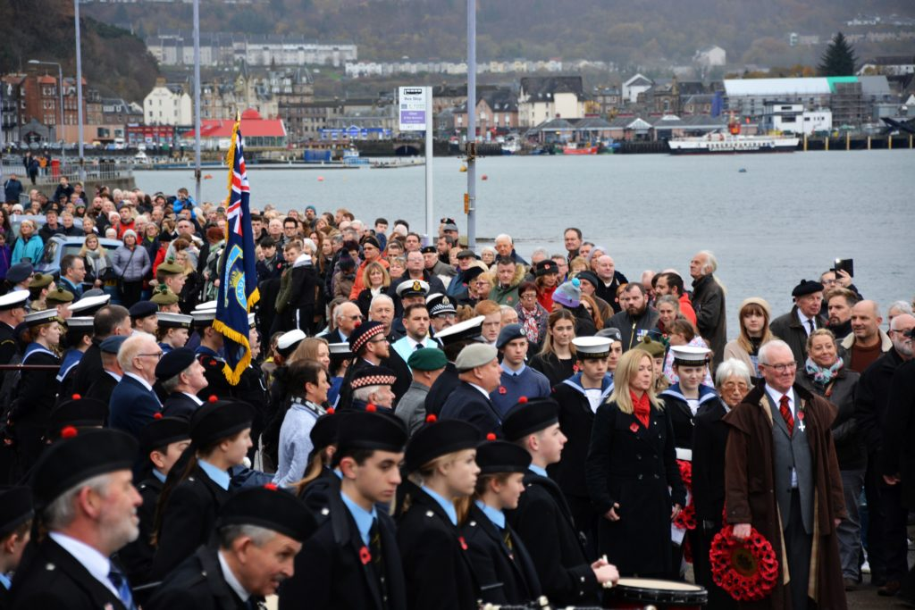 Oban, Lorn and the Isles remember the fallen